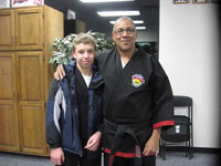 Master Duncan and student